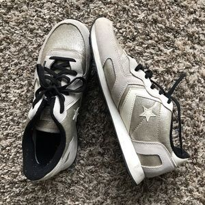 Converse Cons Rose Gold Sparkly Sneakers size 8.5